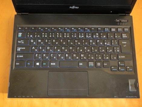 富士通LIFEBOOK WS2/Jキーボード